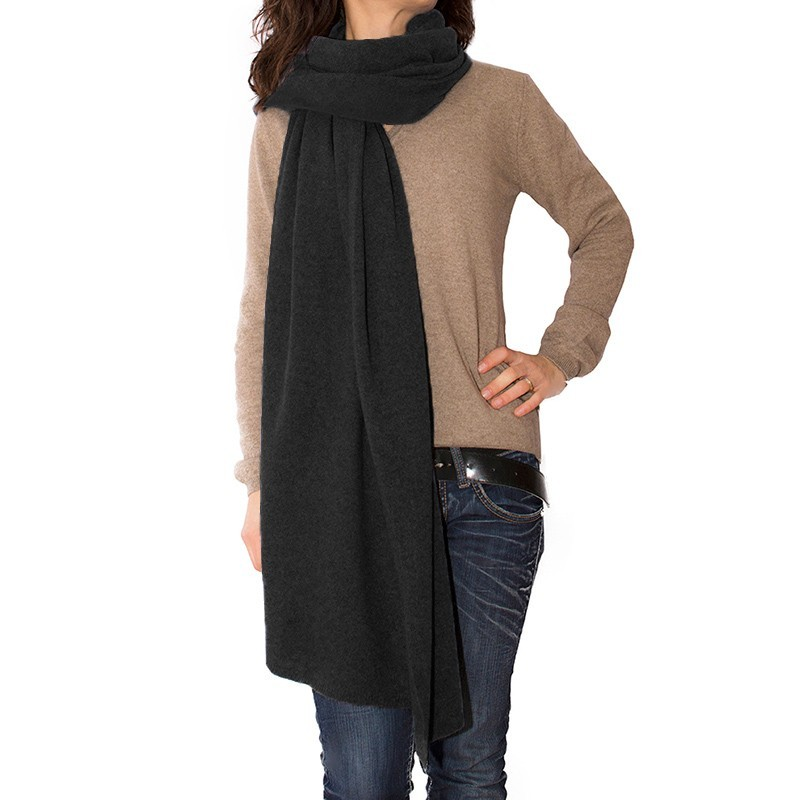 Classic Poncho Cashmere, Wool, Silk